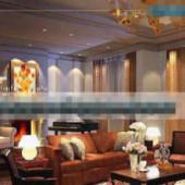 Exquisite Sofa Business Living Room