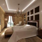 Pale Yellow Comfortable Bedroom