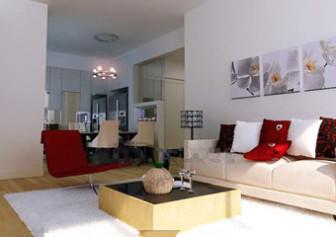 Modern Simple And Nice Living Room