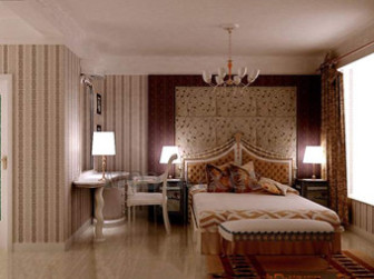 Exquisite Decoration And Comfortable Bedroom