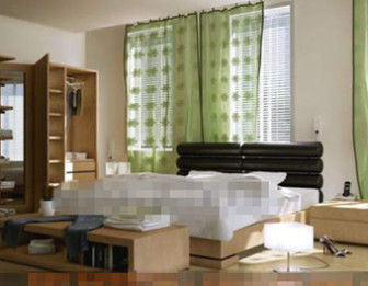 Modern Fresh And Comfortable Bedroom