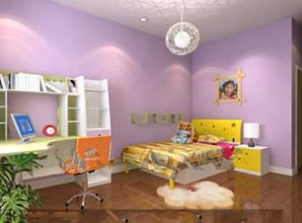 Purple Multi-functional Children Bedroom