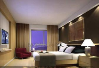 Comfortable Business-type Hotel Bedroom