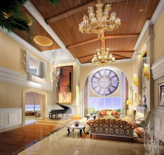 Fabulous Luxury Large Space Living Room