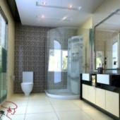 2013 Bathroom Design Free 3dmax Model