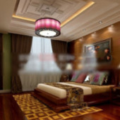 Princess Room Bedroom Free 3dmax Model
