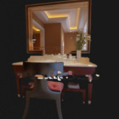 Free 3dmax Model Of Bathroom Vanity