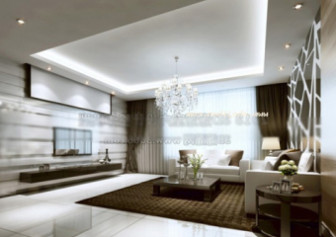 Understated Luxury Living Room