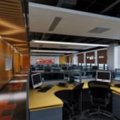 Company Office Free 3dmax Model