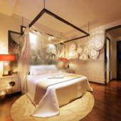 Interior Bedroom Free 3dmax Model