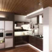 Free 3dmax Model Of European-style Kitchen