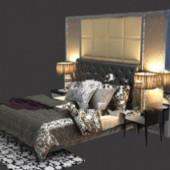 Dark Bedroom Free 3dmax Model