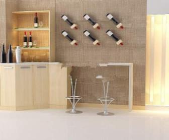 Elegant Indoor Bar