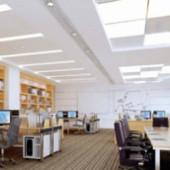 Office Design Free 3dmax Model