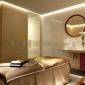 Salon Interior Free 3dmax Model