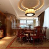 2013 Free 3dmax Model Design New Restaurant