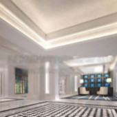 Free 3dmax Model Of Corporate Offices Road