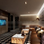 Ktv Luxury Boxes Free 3dmax Model