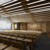 Conference Room Free 3dmax Model Ladder