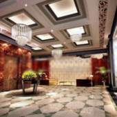 Fortune Hotel Design Free 3dmax Model