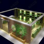 Free 3dmax Model Design Interior Space