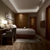 Naive Bedroom Free 3dmax Model