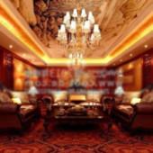 Deluxe Rooms Free 3dmax Model