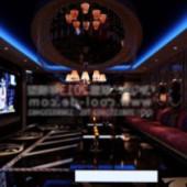 Ktv Luxury Boxes Free 3dmax Model