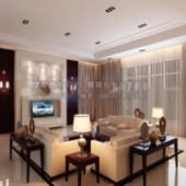 Spacious Living Space Design