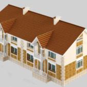 Residential Villas Free 3dmax Model Download