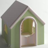 Refreshing Small Kennel Free 3dmax Model