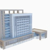 Office Building Free 3dmax Model
