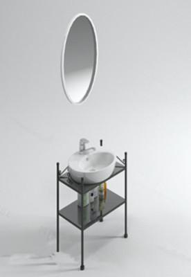 A Round Mirror Sink