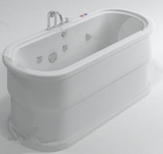 White Simple Bathtub