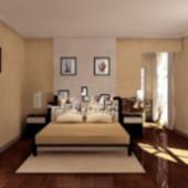 Simple Bedroom Free 3dmax Model