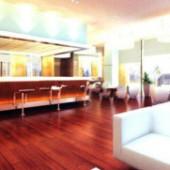Restaurant Bar Free 3dmax Model