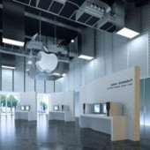 Free 3dmax Model Apple Store