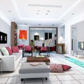 Download living room Free 3D Models - 123Free3dModels