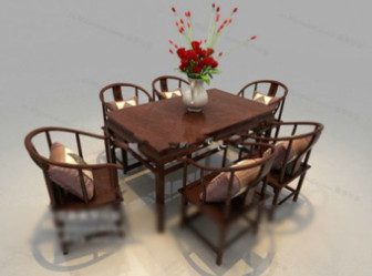 Combination Of Chinese Furniture