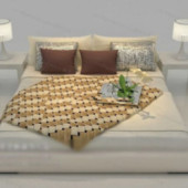 Simple Bed Free 3dmax Model