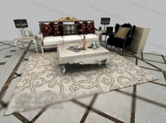 Contemporary Sofa Free 3dmax Model