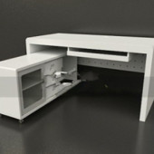 Computer Desks Free 3dmax Model
