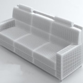 Modern Sofa Free 3dmax Model
