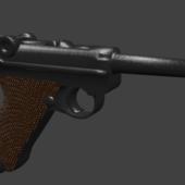 Ww2 Luger P08 Gun