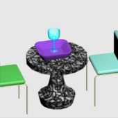 Dinner Set Table With Chairs