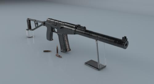 Vss Val Russian Sniper Gun