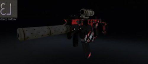 Vector 45 Acp Weapon
