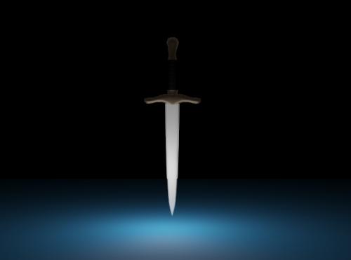 Medieval Dagger Wapon