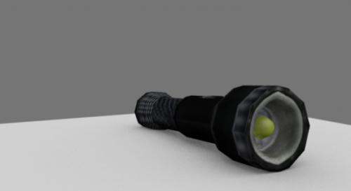 Police Flashlight Tool