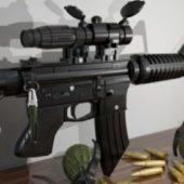 Assault Riffle Gun